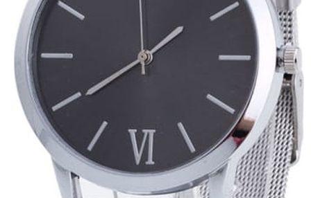 Kovové hodinky pro ženy i muže - 3 barvy