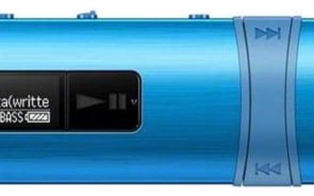 MP3 přehrávač Sony NWZ-B183FL modrý + Doprava zdarma