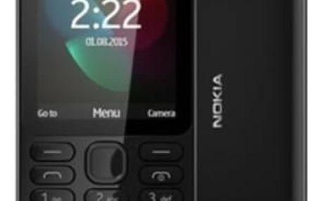 Mobilní telefon Nokia 222 Dual SIM (A00026337) černý