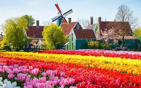 Amsterdam na 4 nebo 5 dní s prohlídkou skanzenu