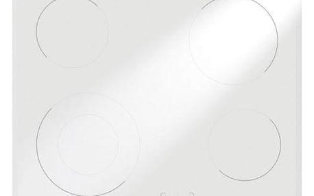 Sklokeramická varná deska Mora VDS 641 FW1 bílá