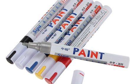 Tužka na pneumatiky (voděodolná barva) - bílá - dodání do 2 dnů