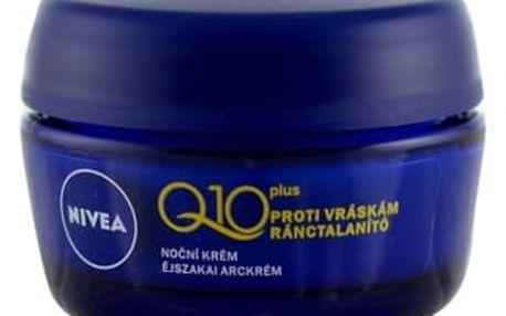 Nivea Q10 Plus 50 ml noční pleťový krém proti vráskám pro ženy