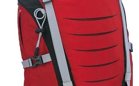 Multifunkční batoh High Peak Factor, 26 l, červená/tm.šedá