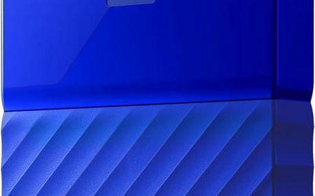 WD My Passport - 1TB, modrá - WDBYNN0010BBL-WESN