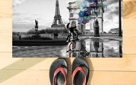 Rohožka Ynot home Paris Life, 52x75cm