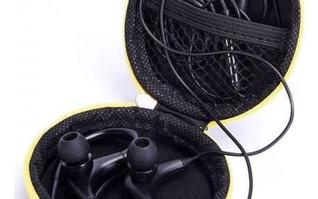 Pouzdro na sluchátka s karabinou ve více barvách