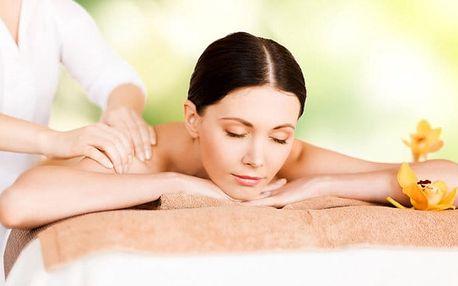 1–6x masáž zad, krku a šíje a 1–6x skořicový či bahenní zábal v salonu Anička v Plzni