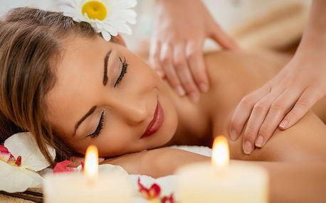 60minutová klasická částečná masáž