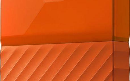 WD My Passport - 1TB, oranžová - WDBYNN0010BOR-WESN + Fidget Spinner bílý v hodnotě 149 Kč