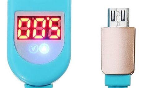 Datový a napájecí Micro USB kabel s indikátorem