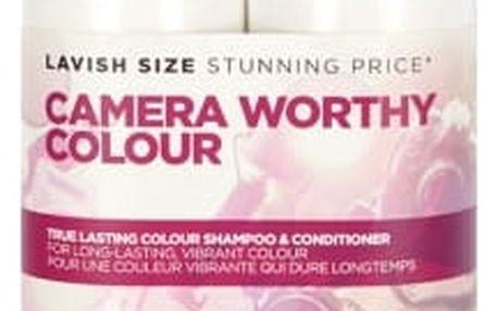 Tigi S Factor True Lasting Colour dárková kazeta pro ženy šampon 750 ml + kondicionér 750 ml
