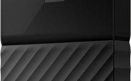 WD My Passport - 1TB, černá - WDBYNN0010BBK-WESN + Fidget Spinner bílý v hodnotě 149 Kč