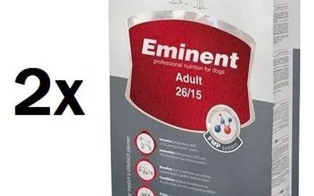 Granule Eminent Adult 2 x 15 kg + 2 kg ZDARMA + Doprava zdarma