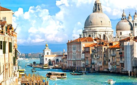 3 dny v Benátkách a blízkém okolí, prohlídka památek a koupání v azurovém moři