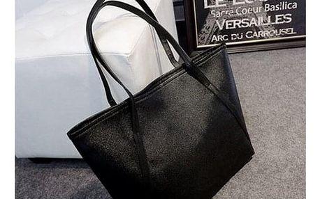 Dámská elegantní kabelka přes rameno - Černá - dodání do 2 dnů