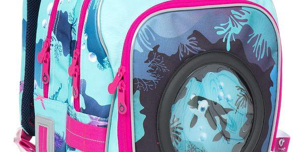 Školní batoh Topgal CHI 790 D - Blue