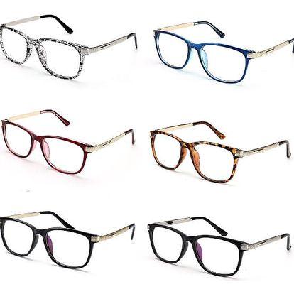 Unisex brýle bez dioptrií