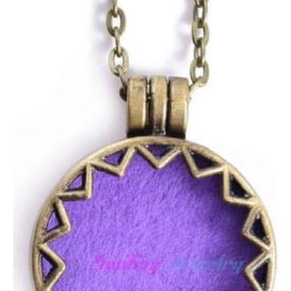 Aroma náhrdelník s vyměnitelnými barevnými vložkami