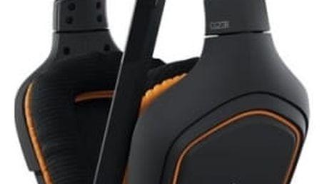 Headset Logitech G231 Prodigy (981-000627) černá/oranžová