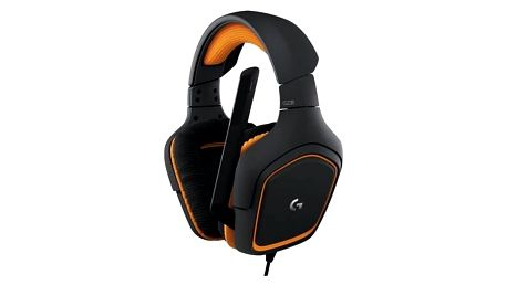 Headset Logitech Gaming G231 Prodigy (981-000627) černá/oranžová + Doprava zdarma