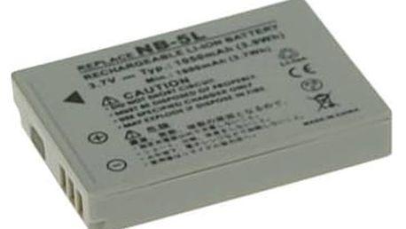 Baterie Avacom pro Canon NB-5L Li-Ion 3.7V 1050mAh (DICA-NB5L-731)