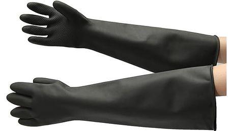 Extra dlouhé gumové rukavice