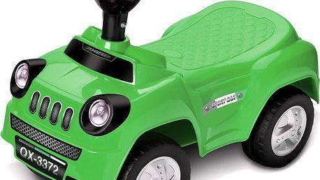 WIKY Odrážedlo auto 50 cm, zelená