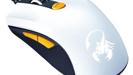 Genius GX Gaming Scorpion M8-610, bíložlutá - 31040064103