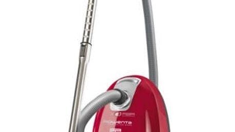 Vysavač podlahový Rowenta Compacteo Ergo Power RO5253EA červený + dárek