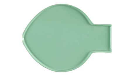 Světle zelený talíř Athezza Caracas