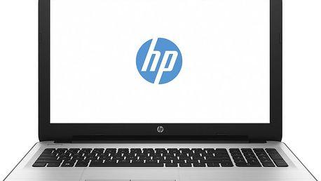 HP 15 (15-ba067nc), bílo-stříbrná - X3L20EA