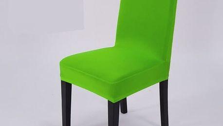 Elegantní potah na kuchyňské židle - zelená - dodání do 2 dnů