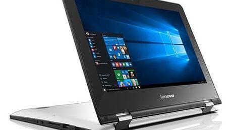 Notebook Lenovo YOGA 300-11IBR + Office 365 (80M100SNCK) bílý