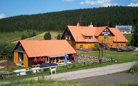Krkonoše letní dovolená: ubytování levně