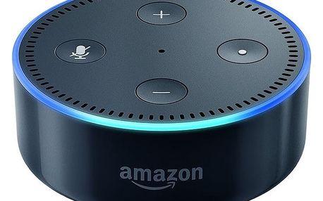 Amazon Echo DOT - reproduktor s umělou inteligencí, černá (EU distribuce) + redukce EU - Amazon Echo DOT black
