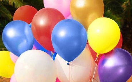 Sada latexových balonků - 100 kusů