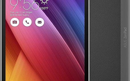 """ASUS Z380KNL-6A015A - 8"""" - 16GB, LTE, šedá + Zdarma GSM T-Mobile SIM s kreditem 200Kč Twist (v ceně 200,-)"""