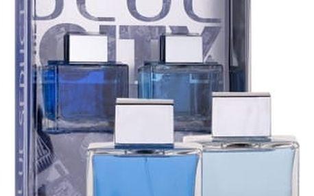 Antonio Banderas Blue Seduction For Men dárková kazeta pro muže toaletní voda 100 ml + voda po holení 100 ml