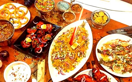 Poukaz na konzumaci v indické restauraci Indian Happy Tandoor v Praze. Výběr z 50 jídel.