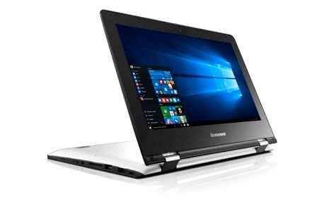Notebook Lenovo YOGA 300-11IBR + Office 365 (80M100SNCK) bílý