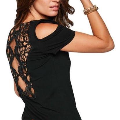 Dámské triko s vykrojenými rameny a zády - 4 barvy