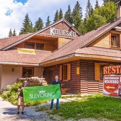 Nízké Tatry pro dva: horská chata v létě