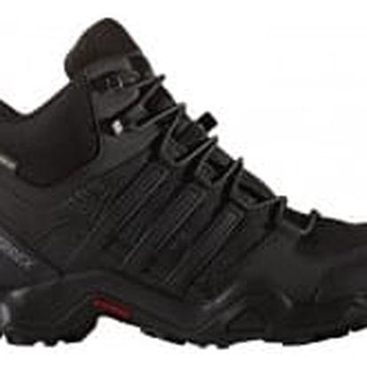 Pánská treková obuv adidas TERREX SWIFT R MID GTX 44 CBLACK/CBLACK/DKGREY