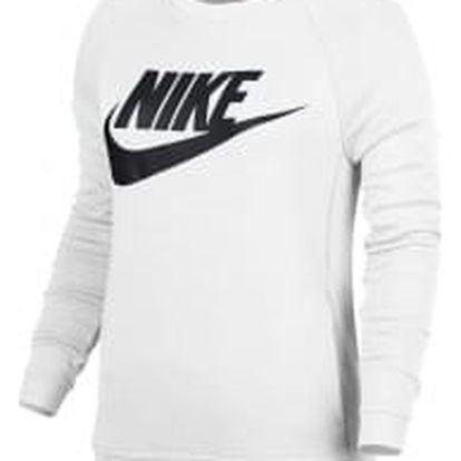Dámská mikina Nike W NSW MODERN CRW GX1 S WHITE/WHITE/BLACK
