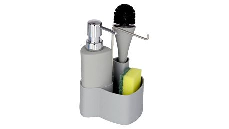 Šedý set na mytí nádobí Wenko Empire