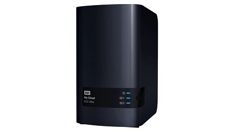 WD My Cloud EX2 Ultra, 4TB (2x2TB) - WDBVBZ0040JCH-EESN
