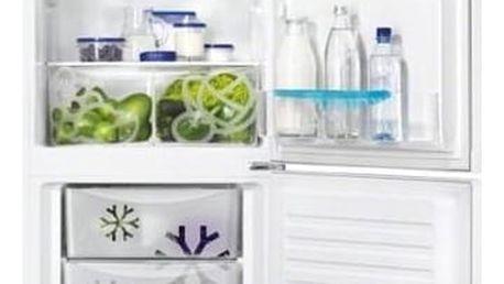 Kombinace chladničky s mrazničkou Zanussi ZRB33103WA bílá + Doprava zdarma