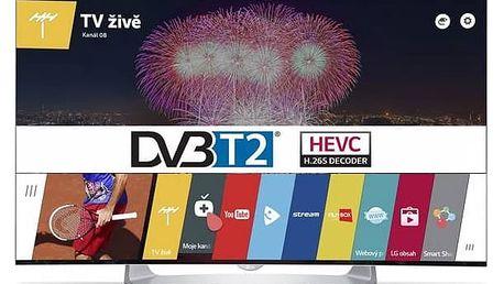 Televize LG 55EG910V stříbrná + Doprava zdarma