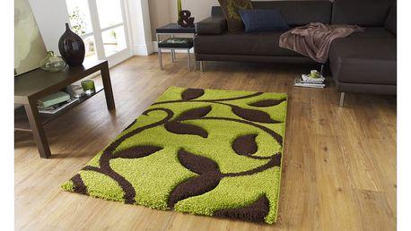 Zeleno-hnědý koberec Think Rugs Fashion,120x170cm - doprava zdarma!
